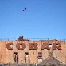 Cobar sign - square