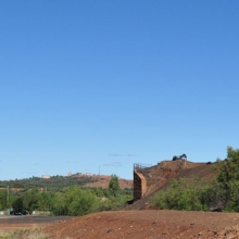 The edge of town - and beginning of the outback