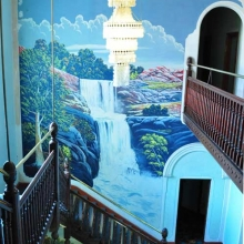 Broken Hill - murals at the Palace Hotel