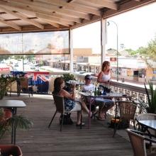 Cobar - the longest pub balcony in Australia