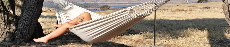 Sitting in the-hammock