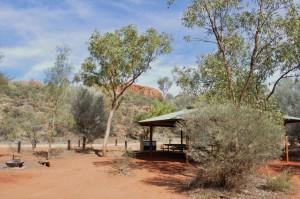 Trephina Gorge bush camping