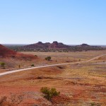 The road Middleton Boulia