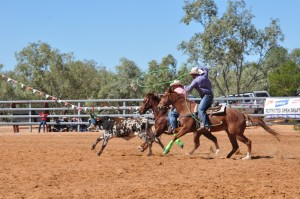 Roping is a lost art