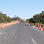 Tarring and widening outback roads