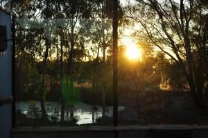Sunset mudbath