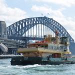 Ferry across Sydney Harbour