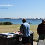 Barbecue at the beach Frenchman's Bay
