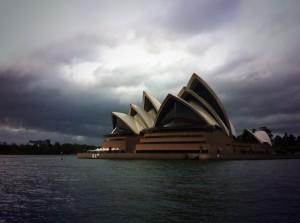 Storm over Sydney Opera House
