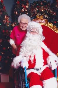 Santa-in-a-wheelchair