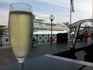 Champagne-by-the-harbour
