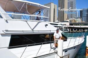 My luxury cruise boat