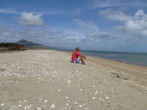 Deserted beach Cape Melville