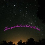 Facebook cover look at the stars