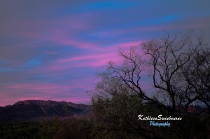 Sunset-East-Macdonnell-Ranges