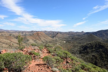 Arkaroola my campsite is there