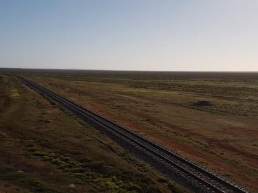 Flat landscape SA
