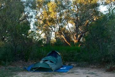 My campsite Mungerannie