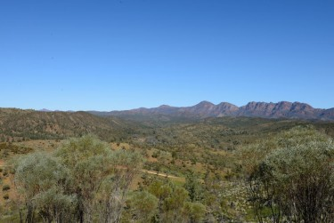 Broad vista of Arkaroola