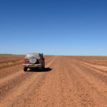 Driving on wide open spaces