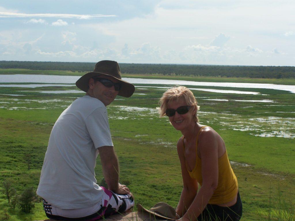 The floodplains of Kakadu from Ubirr
