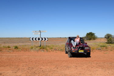 On the Cordillo Downs Road to Innamincka